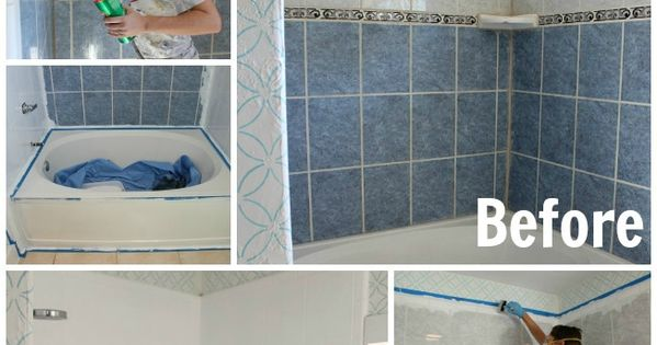 Have outdated tile you dont want to replace? This tutorial is for