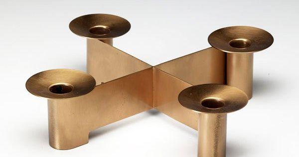 albert reimann copper candle holder for chase c1940 design pinterest. Black Bedroom Furniture Sets. Home Design Ideas