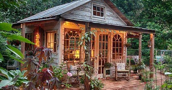 She Shed Cabins N Porches N Stuff Pinterest