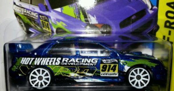 Hot Wheels 2014 Hw Racing Off Road 108 Subaru Impreza Wrx Sti Blobeye Rally Wrc Carritos Coleccionables