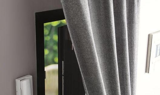 Tringle rideau de porte ib pour rideaux illets d 20 for Lancez vous castorama
