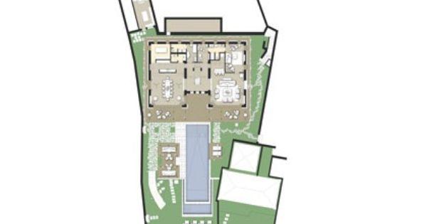 Bvlgari Villa Layout Villa Plan Bulgari Villa Best Modern House Design