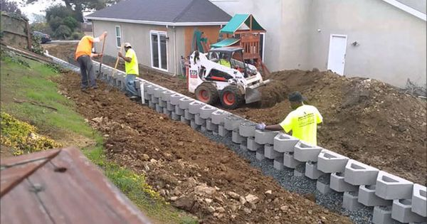 Retaining Wall Design And Construction Construction Youtube Tutorial Retaining Wall Design Retaining Wall Building A Retaining Wall