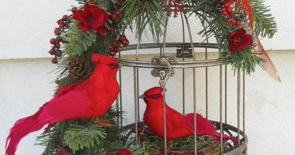 neue weihnachtsgestecke selber machen k fig christmas. Black Bedroom Furniture Sets. Home Design Ideas