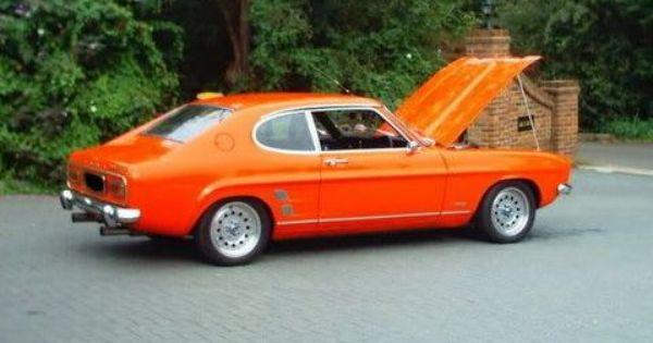 Orange Mk 1 Ford Capri Mercury Capri Ford Motor
