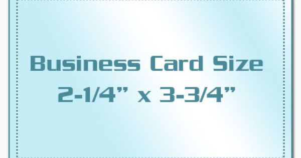 Business Card Size Laminating Pouches Business Card Size Card Sizes Cards