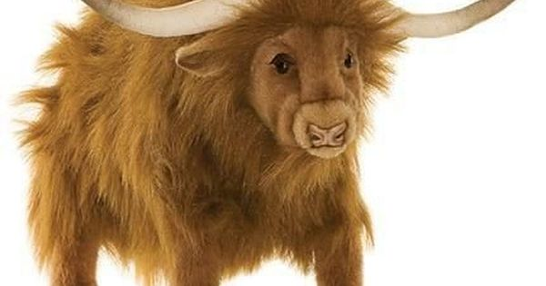 Plush Stuffed Yak By Hansa 19 Yak Plush Animals