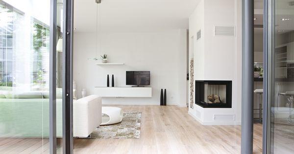 Wohnzimmer mit kamin haus ideen pinterest haus