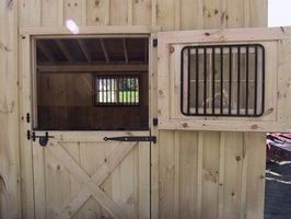 How To Build Dutch Doors For A Horse Barn Ehow Horse Stalls