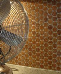 Cork Mosaic Tiles Great For Backsplash Floor 20 56 2 Sq Ft Mosaic Flooring Penny Round Tiles Cork Tiles
