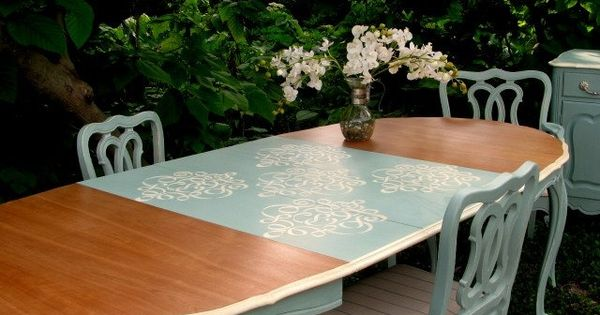 French Cottage Dining Sets And Shabby On Pinterest