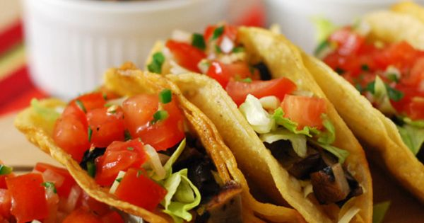 Grilled Portobello Tacos | Glorious Food! | Pinterest | Grilled ...