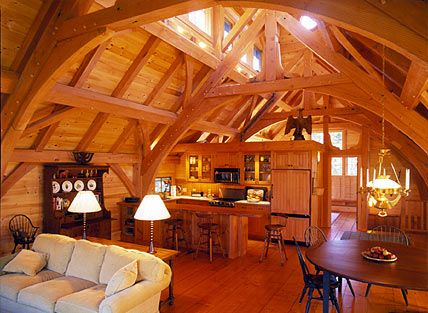 Post and Beam Home Construction Timber Frame Home and Barn