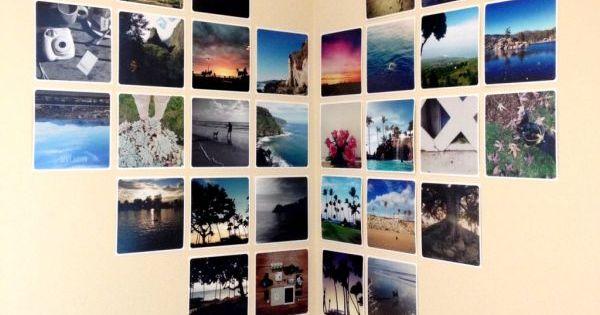 wanddekoration ideen zum selbermachen 40 kreative fotobeispiele diy pinterest tes. Black Bedroom Furniture Sets. Home Design Ideas