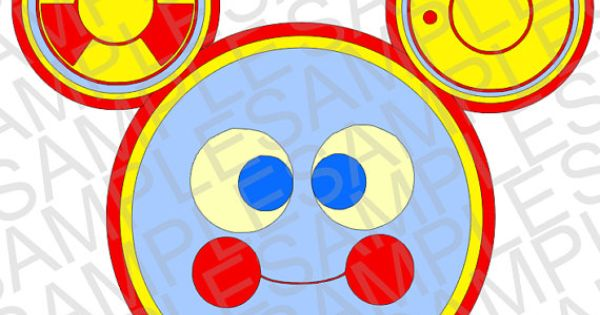 Disney Inspired Toodles from Mickey Mouse Clubhouse SVG ...