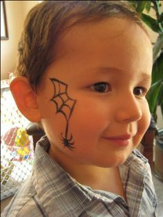 Face Painting Ideas Caterpillar Face Painting Pinterest Face Painting For Boys Easy Halloween Face Painting Spider Face Painting