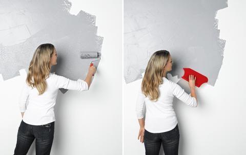 Wandgestaltung In Beton Optik Schoner Wohnen Farbe Schoner Wohnen Wandgestaltung Betonoptik Betonoptik Betonoptik Wand