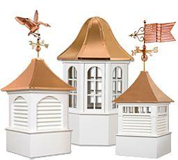Cedar Cupolas Azek Maintenace Free Cupolas Cupolas Beach House Design House Exterior