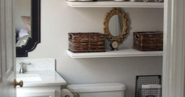 Small bathroom makeover bathroom decor pinterest small bathrooms
