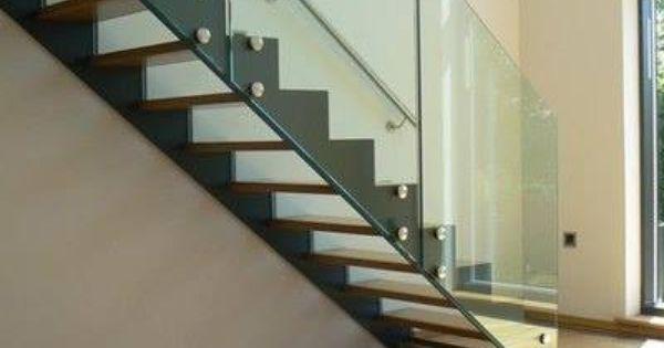 Escaleras las escaleras pueden ser dise adas con cristal - Escaleras de cristal templado ...