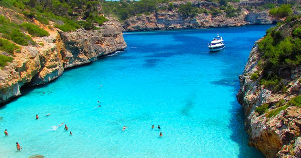 Calo des Moro Beach, Spain. So many beautiful places in the world!