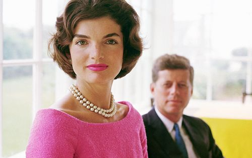 Jacqueline Kennedy & President John F. Kennedy, Life Magazine, 1961.