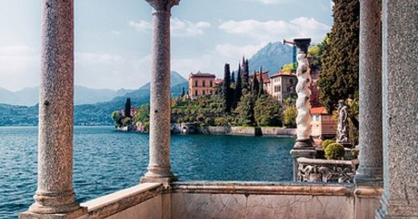 Looks like Lake Garda, Italy. Love that place.