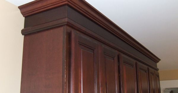 Cabinet With Transition Trim Extend Kitchen Cabinet To