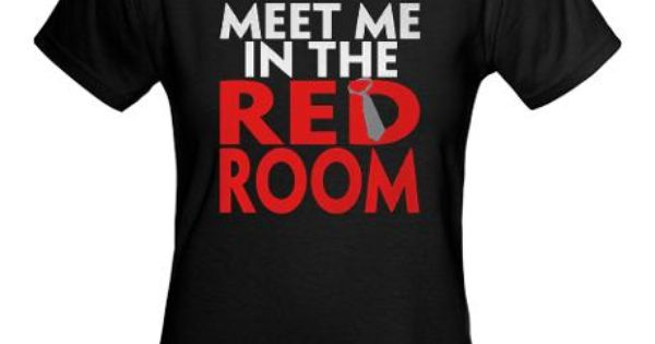 50 shades of grey t shirt. Meet me in the red room