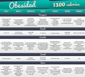 1300 Calorias Dlieta Plan Alimenticio Bajar De Peso 1200 Calorias Dieta Dieta 1400 Calorias