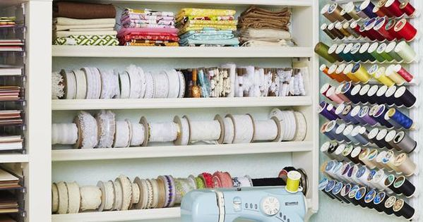 Storage Solutions For Craft Rooms: 12 Creative Craft Or Sewing Room Storage Solutions