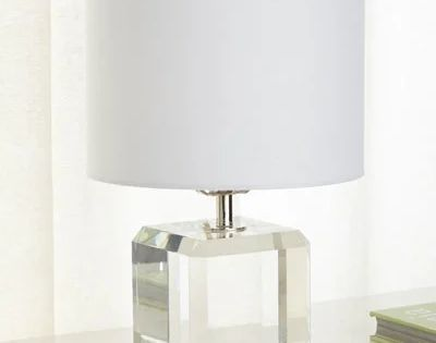 Hbhrq Square Crystal Accent Lamp Accent Lamp Lamp Table Lamp