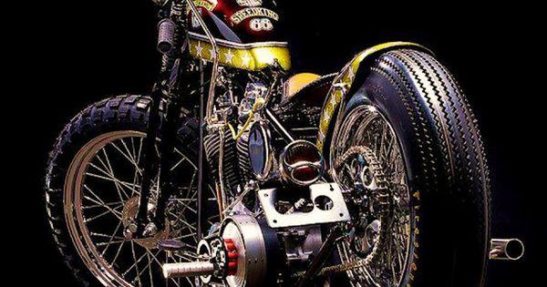 Harley Davidson Shovelhead Custom Bobber Motorcycle | Motorcycles