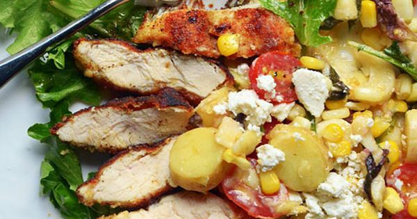 ... Tomatoes and Corn — Recipes from | Summer Salads, Salad and Tomatoes