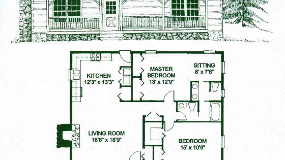 Chickamauga 2 Bed 1 5 Bath 1 Story 1200 Sq Ft