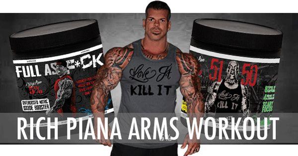 Rich Piana Arm Workout Arm Workout Workout Gym Tips