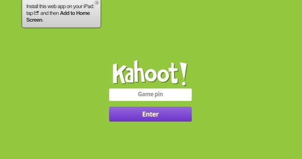 how to make a kahoot clone