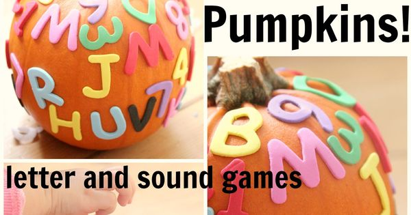 alphabet pumpkins letter and sound gamesCheckout this great post on Preschool Lesson