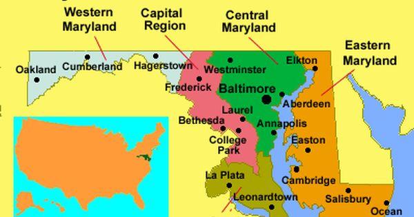 What Leonardtown Is On The Map Leonardtown Maryland Delmarva Peninsula