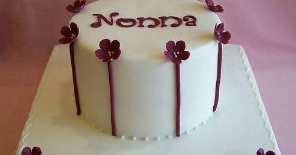 White Elegant Birthday Cakes For Girls | Adult Birthday ...