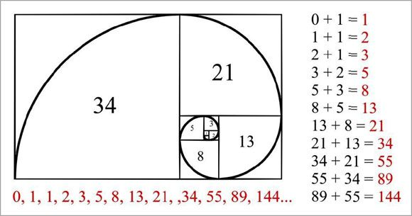 Use Fibonacci Sequence For Table Numbers 0 1 1 2 3 5 8 13 21 34 55 89 144 233 377 610 Fibonacci Sequence Fibonacci Fibonacci Art