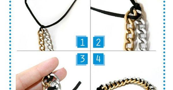 chain bracelet DIY