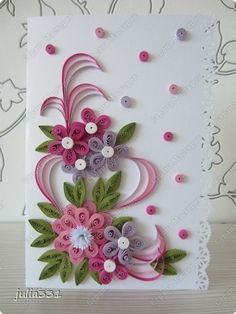 Pin By Grazyna Barna On Quilling Quilling Designs Paper Quilling Cards Paper Quilling Flowers