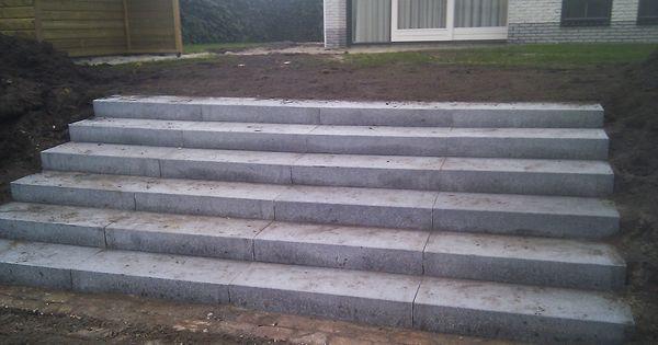 Betonnen trap tuin google zoeken tuin steiger pinterest tuin en zoeken - Ontwerp betonnen trap ...