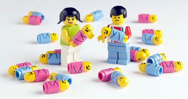 LEGO Minifigures babies