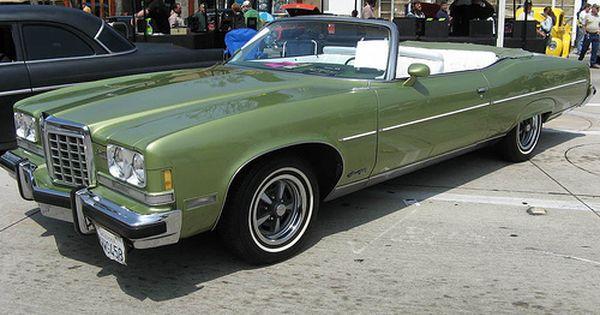 1974 Pontiac Grandville converitble   1970's Pontiac   Pinterest   Chevrolet impala, Station ...