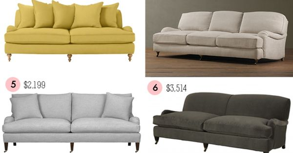 Roundup Of English Roll arm Sofas Decorate Pinterest
