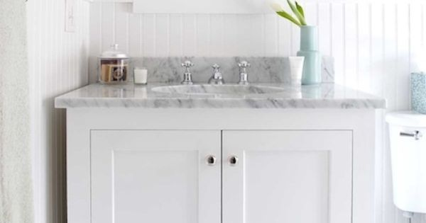 Colors Gray On Floor And Vanity Top White Everywhere Else Renovation Nation Pinterest