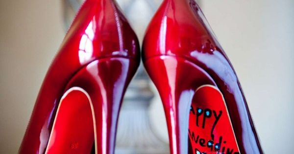 Wedding sandals - photo
