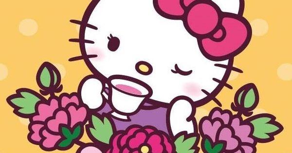 sanrio hello kitty hello kitty pinterest drinking tea sanrio hello kitty and chang 39 e 3. Black Bedroom Furniture Sets. Home Design Ideas